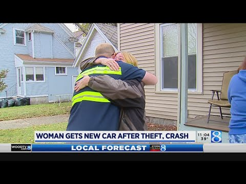 Fishhead - #GoodNews: Woman Gifted New Car After Hers Was Stolen & Totaled