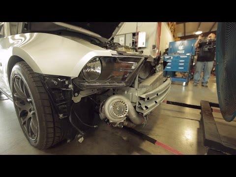 Tuner School Builds & Tests Turbo 5.0 Mustang