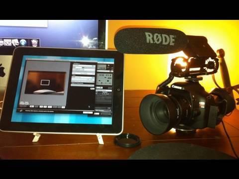 DSLR iPad Monitor & Control