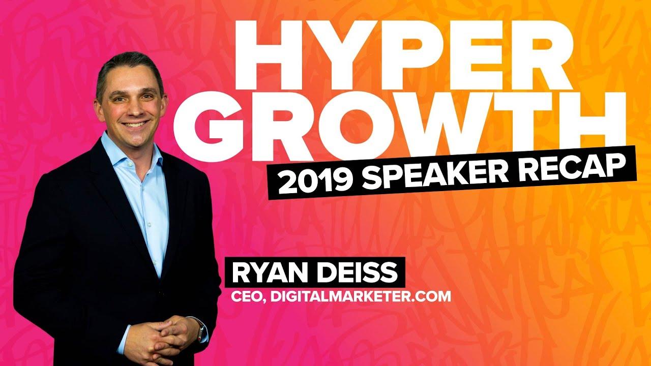 Ryan Deiss HYPERGROWTH London 2019