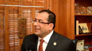 Mayor Of Paris, TX  Dr.Arjumand Hashmi Interviewed By Raja Zahid A Khanzada Geo News Texas