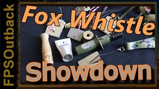 Fox Whistle Showdown - Predator Call Comparison