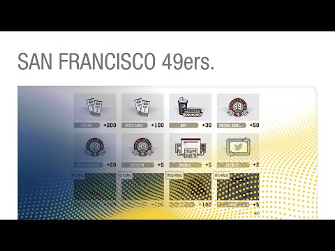 San Francisco 49ers - Faithful 49 Fan Loyalty Program by SKIDATA