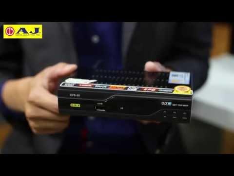 รีวิวกล่อง ดิจิตอลทีวี AJ Set Top Box DVB-90 ราคา 1,490 บาท โดยคุณโรมัน