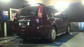 Reprogrammation Moteur Nissan Xtrail dci 140cv @ 166cv Digiservices Paris 77183 Dyno