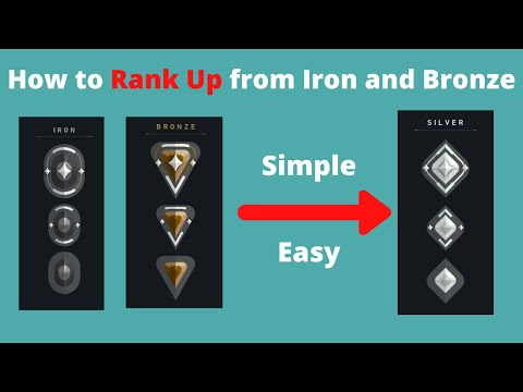 How to Get Out of Iron and Bronze Valorant