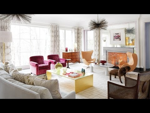 Interior Design – How To Decorate With Colour And Pattern