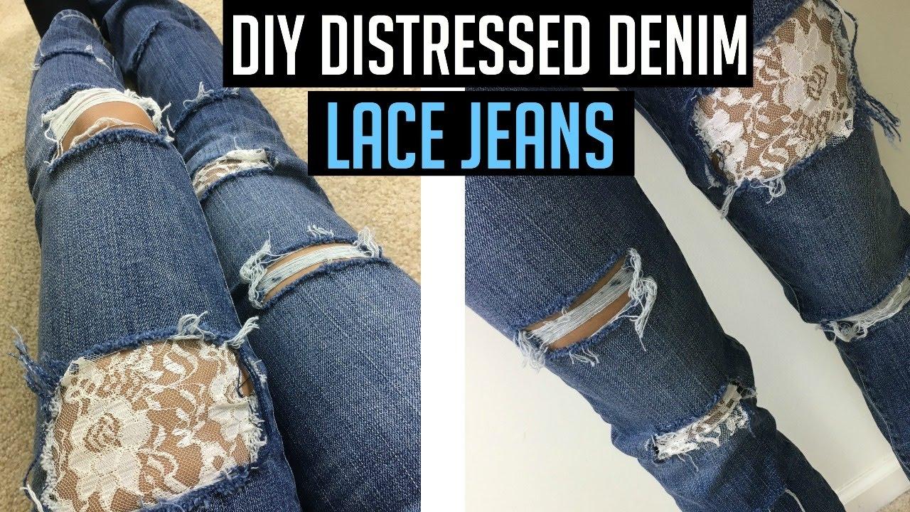 Diy Distressed Shorts Tutorial