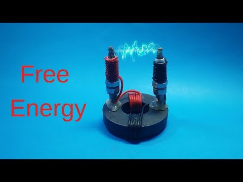 FREE ENERGY HIGH VOLTAGE GENERATOR TO 11000 Volt NEW TECHNOLOGY NEW ELECTRICITY PROJECT