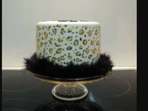 Wild Child Leopard Print 19th Birthday cake YouTube