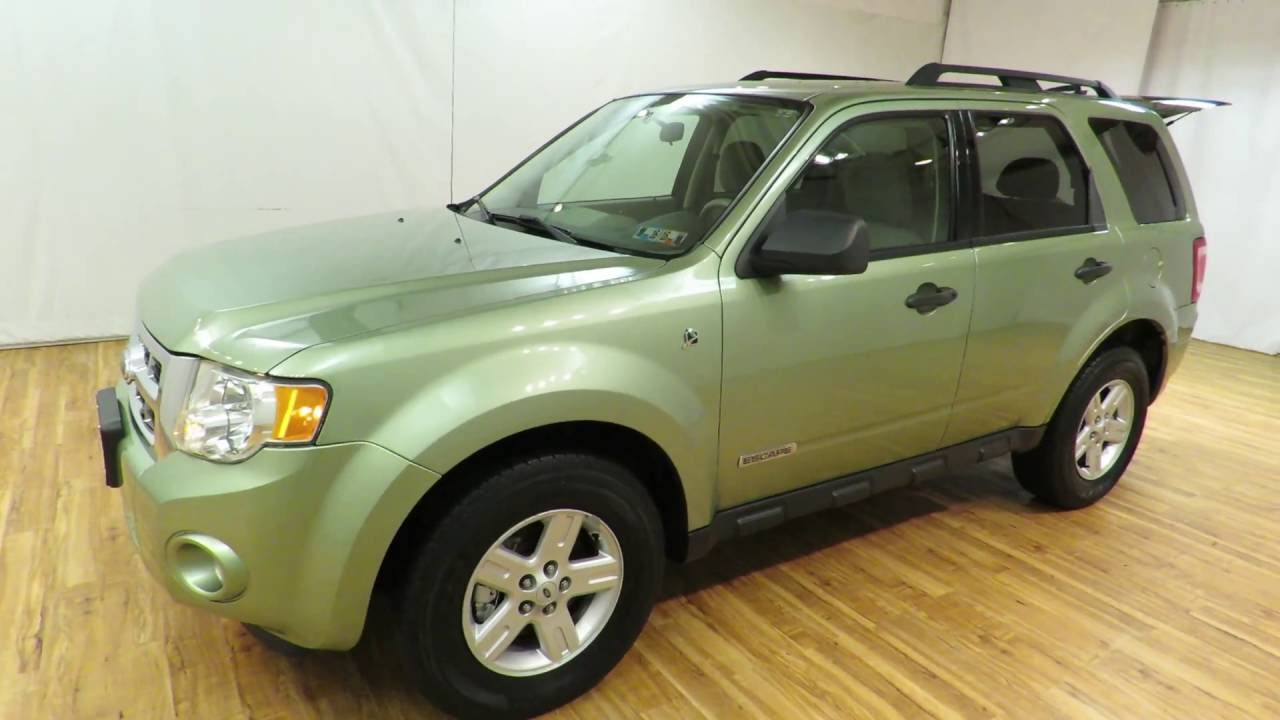 2008 ford escape hybrid carvision com 51329 miles