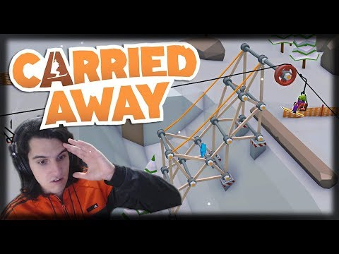 Jogando Carried Away - Novidades, Snowmobiles, Acidentes e Exorcismos!!