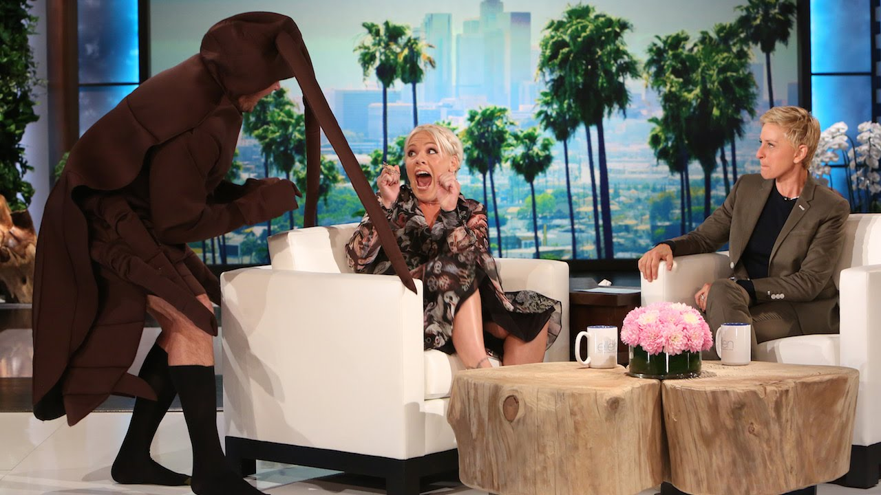Ellen Scares Celebrities (Part 1) | Federica Palma ...