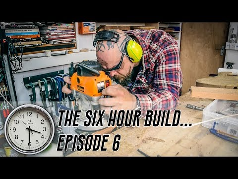The 6 Hour Build - Ep 6 - The Fretboard Radius of My Mind's Eye