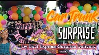 CAR TRUNK SURPRISE By E&G …