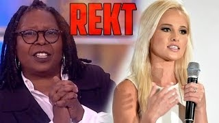 Tomi Lahren Takes On Feminists On The View!!