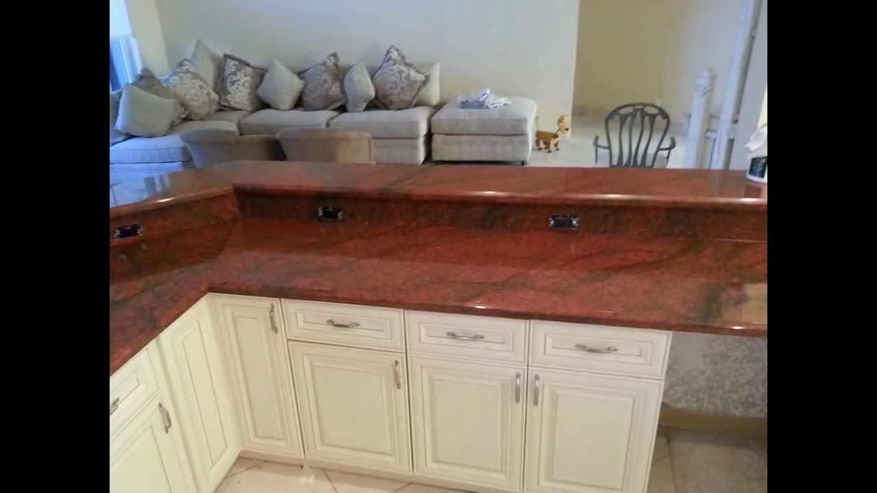 411 Kitchen Cabinets  Granite Antique White kitchen