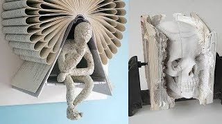 Top 50 Mind Blowing Book Sculptures You Must To See At Once