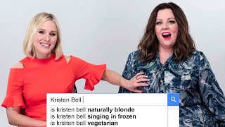 Melissa McCarthy amp Kristen Bell Answer The Webs Most Searched Questions  WIRED