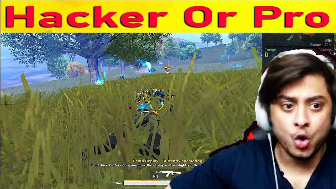 Hacker or Pro Player ?  You Decide : PUBG Mobile