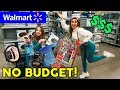 WE BOUGHT EVERYTHING AT WALMART W/ PIPER ROCKELLE **NO BUDGET** | The Royalty Family