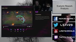 [Champion] Evelynn Rework Analysis ft. EUW Challenger jungler VikingAnton