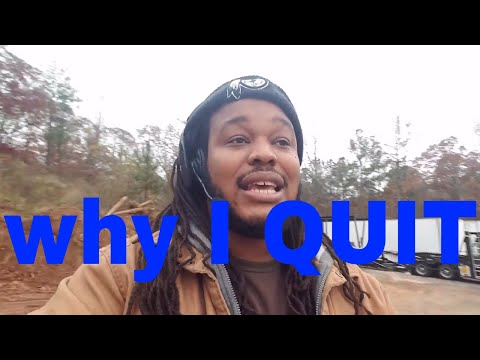 i quit my trucking job VLOG