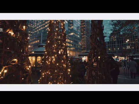 [ NYC Film ] Bryant Park Winter Village Holiday Market NYC 2017 | New York City Cinematic