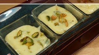 Pistachio Phirni (rice Pudding) Recipe By Manjula