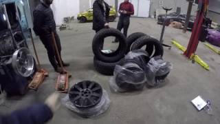 Ремонт Понторезки и новые колёса на новую машину