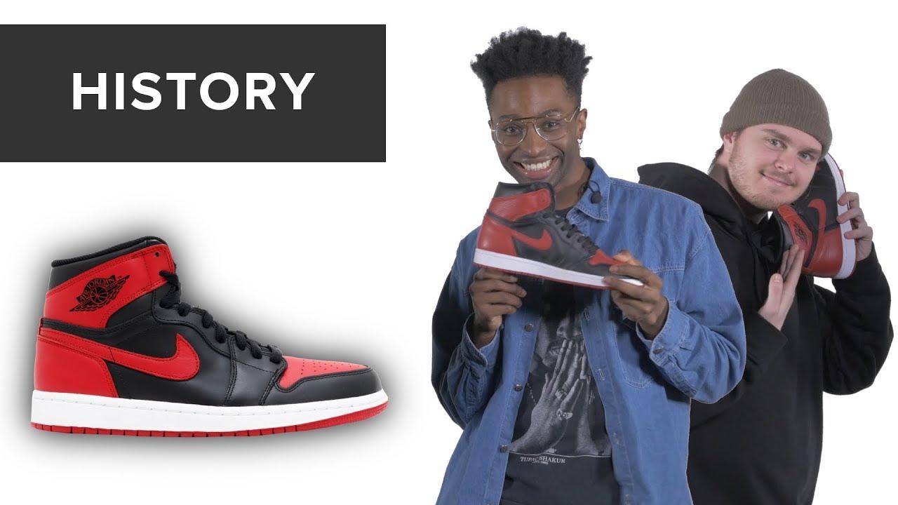 2322e089e1b8 History of Air Jordan 1 - YouTube