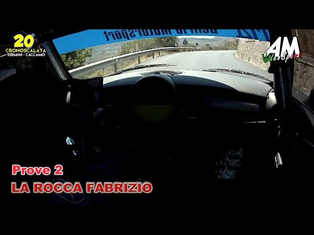 BIG CRASH OBC La Rocca Fabrizio 20° Cronoscalata Termini Caccamo HD