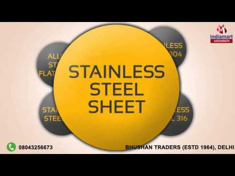 Stainless Steel u0026 Alloy Steel Products by Bhushan Traders (ESTD 1964) Delhi  sc 1 st  YouTube & Stainless Steel u0026 Alloy Steel Products by Bhushan Traders (ESTD 1964 ...