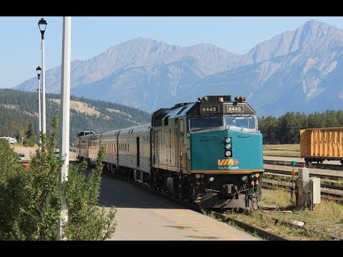 VIA Rail Canada Train No. 5 - Jasper, AB To Prince Rupert, BC