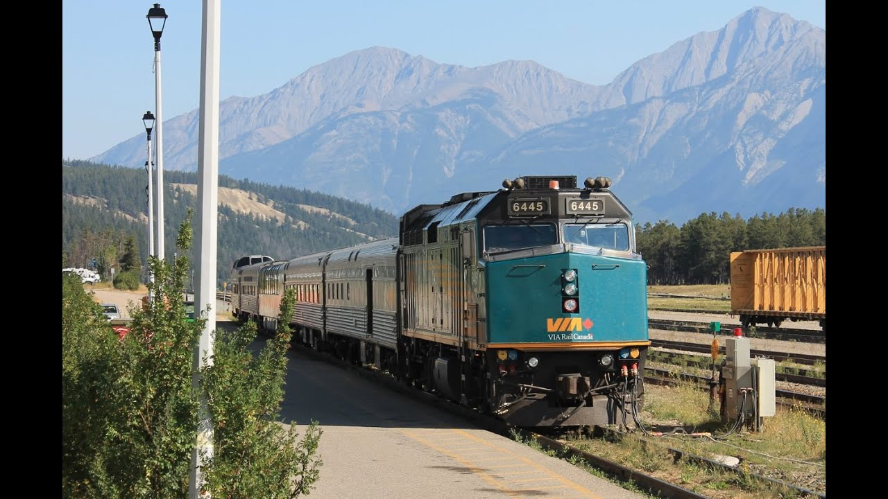 Via Rail Canada Train No 5 Jasper Ab To Prince Rupert
