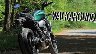 Yamaha XSR 700 Walkaround ! 😍