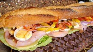 Baguette sandwich (No Talk No BGM 69)