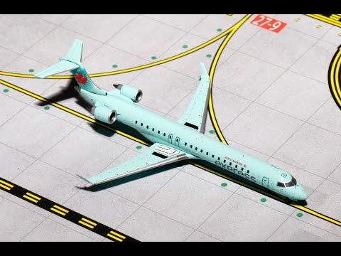 Air Canada Express CRJ-700 Gemini Jets Review