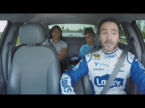 Ride of Your Life with Jimmie Johnson - Tanya & Devin