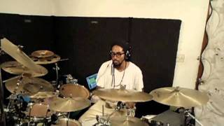 "Drum Cover : ""Heaven On Earth"" By Michael Stampley (HQ)"