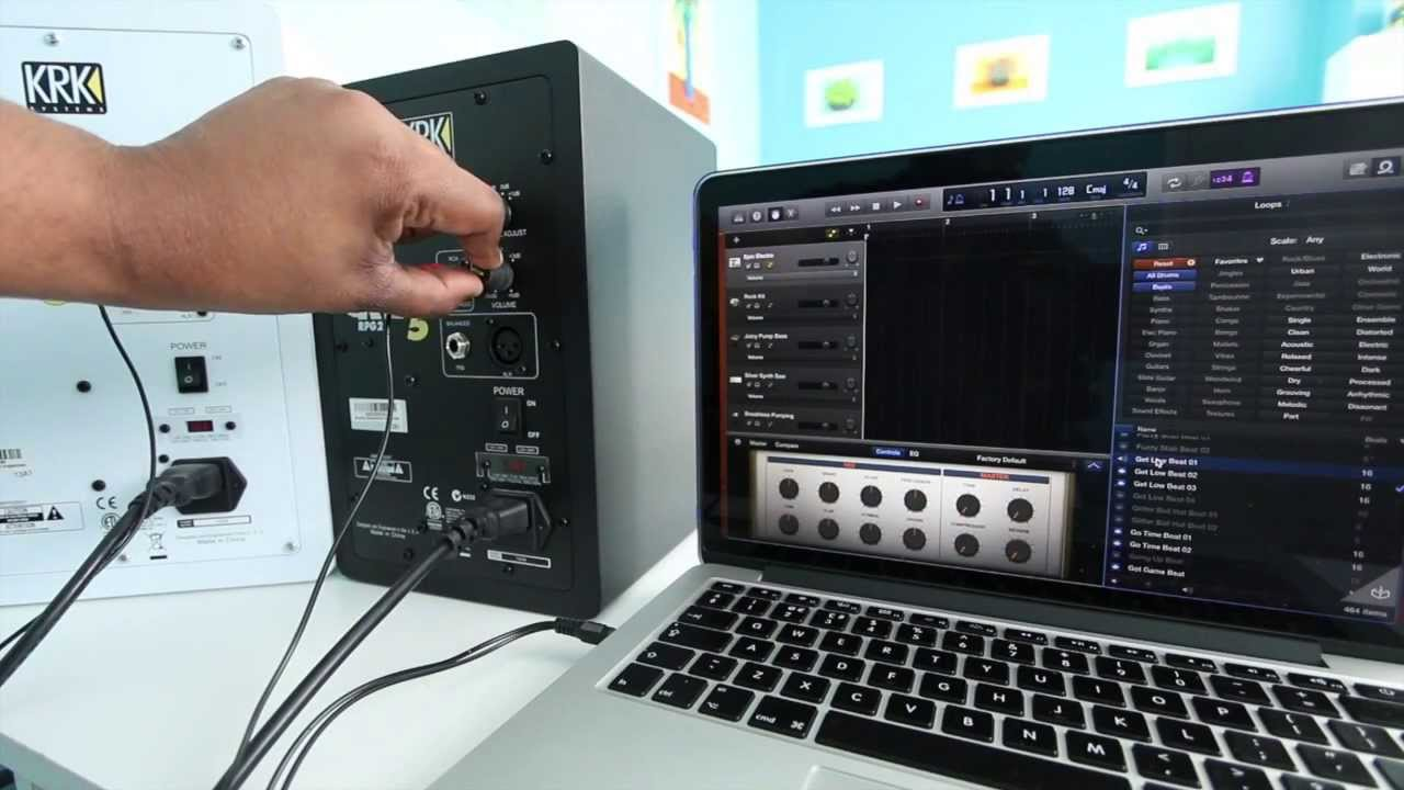 maxresdefault connecting krk rokits youtube KRK Rokit 8 at eliteediting.co