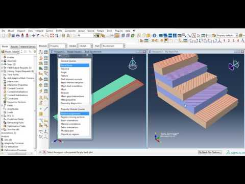 Numerical simulation of wing using ABAQUS ,Part9:Wing Of Composite Materials