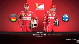 F1 2017 All Cars, Teams & Drivers List HD