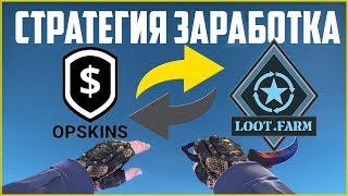 Стратегия заработка LOOT.FARM и OPSKINS #1