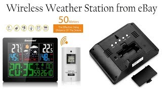 Excelvan wireless weather station  indoor outdoor