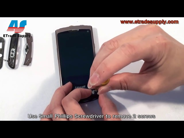 How to replace Samsung S8500 LCD sreen Travel Video