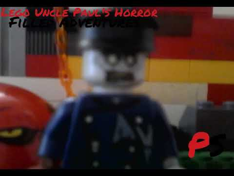Lego Uncle Paul's Horror Filled Adventures Dead Man tell No Tale