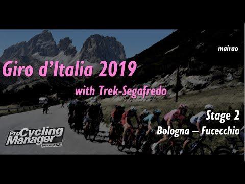 Giro d'Italia 2019 - Stage 2 // Bologna - Fucecchio // Pro Cycling Manager 2018 |