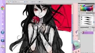 SHSL Vampire! [speedpaint]