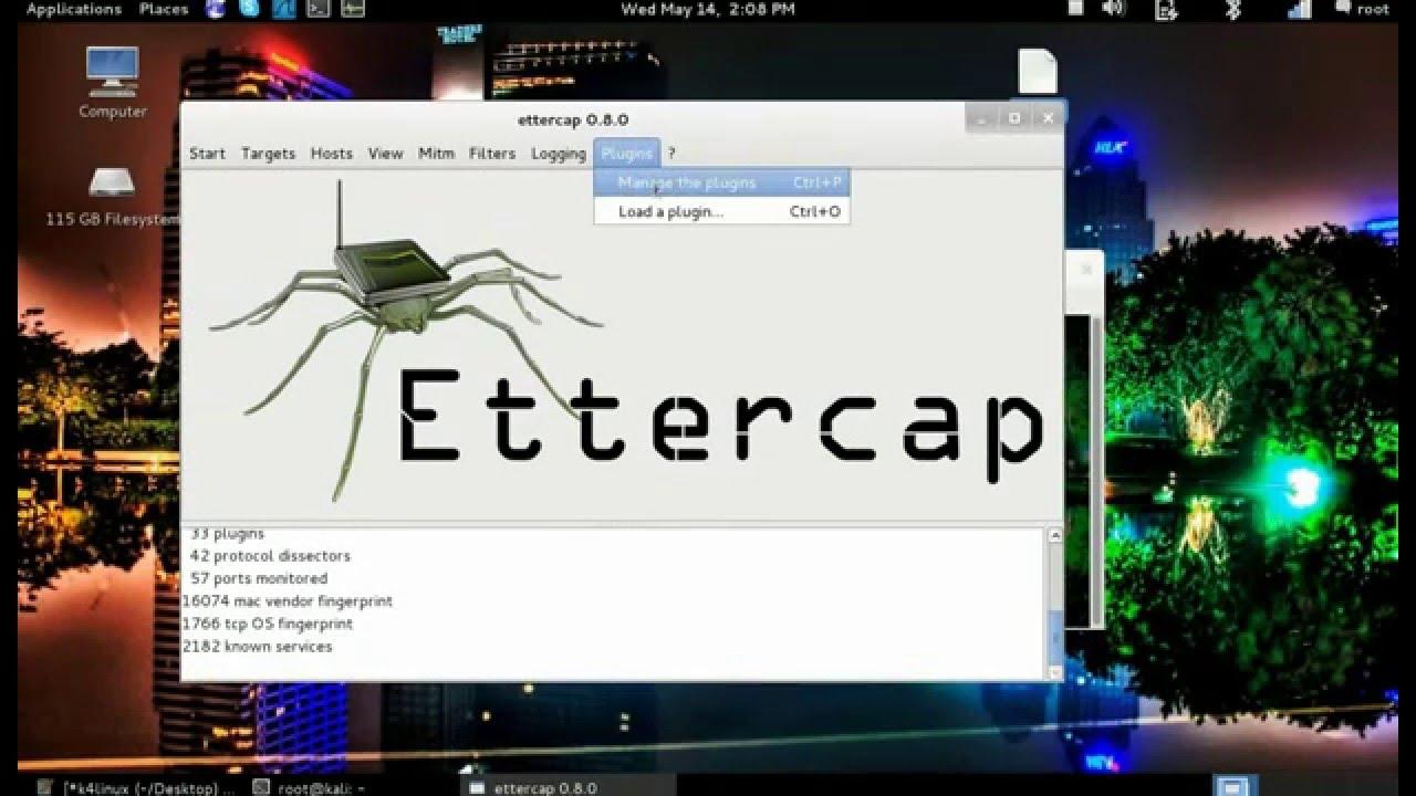 ettercap linux